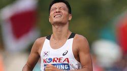 경보선수 박칠성의 목표는 올림픽 메달이