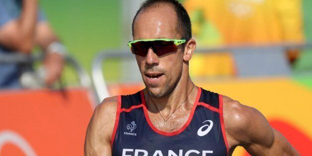 2016 Rio Olympics - Athletics - Final - Men's 50km Race Walk - Pontal - Rio de Janeiro, Brazil - 19/08/2016....