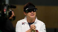 진종오가 사격 최초로 올림픽 3연패를