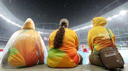 리우 올림픽의 자원봉사자들이 사라지고