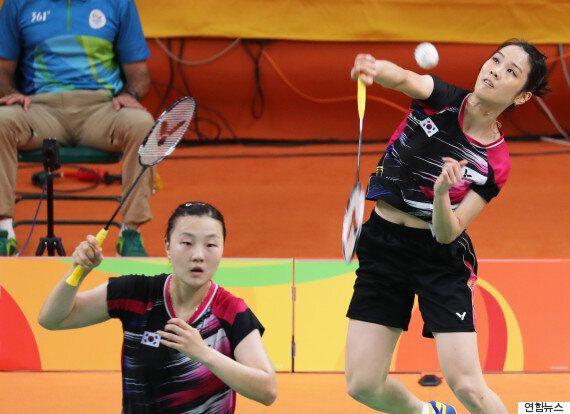 배드민턴 정경은-신승찬, 중국 꺾고 동메달
