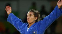 이 여성이 코소보 역사상 첫 올림픽