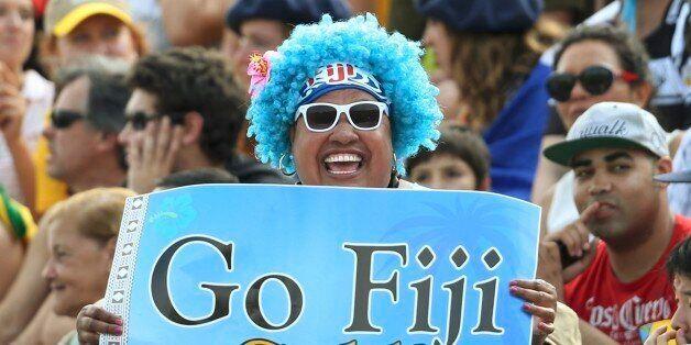 2016 Rio Olympics - Rugby - Preliminary - Men's Pool A Fiji v Brazil - Deodoro Stadium - Rio de Janeiro,...