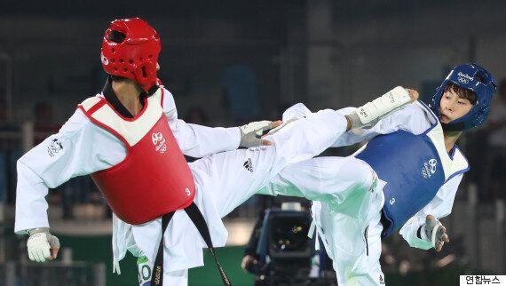 태권도 김태훈, 생애 첫 올림픽서 동메달
