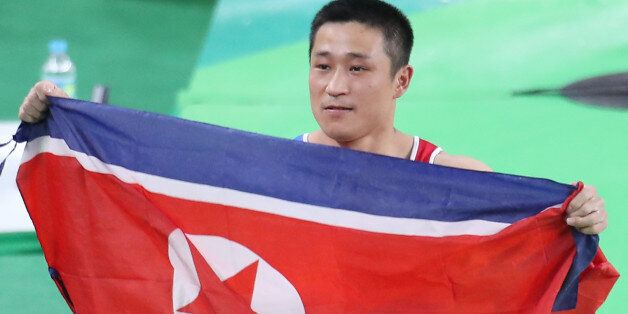 북한에 두 번째 금메달을 안긴 리세광이 양학선에 대해 언급하다