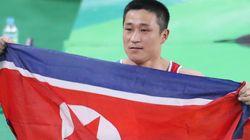 북한에 새 금메달을 안긴 리세광이 양학선에 대해 언급하다