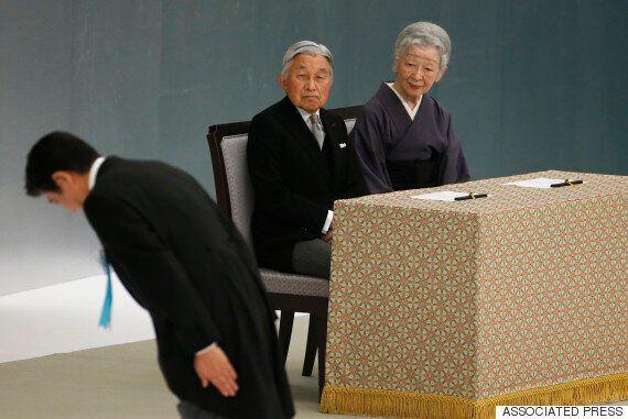 아키히토 일왕, '전몰자 추도식'에서 '깊은 반성'