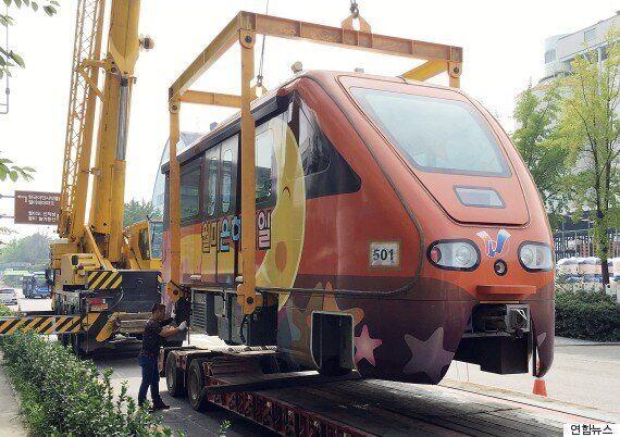 853억원의 세금이 투입된 이 열차는 한 번도 운행 못 하고