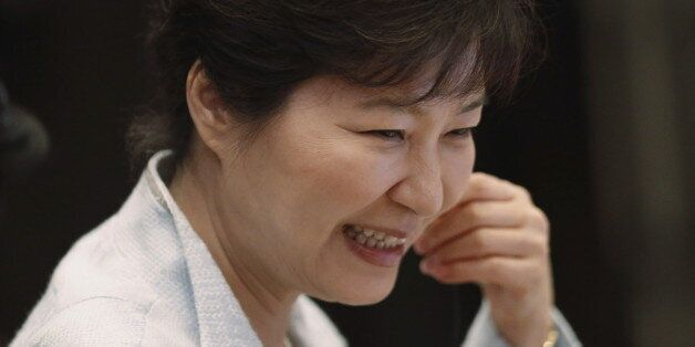 South Korea's President Park Geun-hye attends the 17th ASEAN-Republic of Korea Summit at the 27th Association...