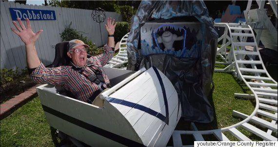 항공우주공학자인 할아버지는 손주들에게 '놀이동산'을 만들어