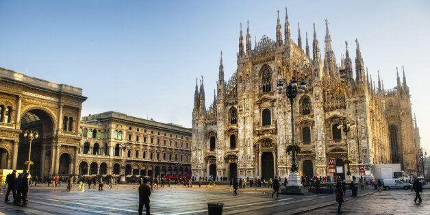 이 관광객은 '실수로' 밀라노 대성당에서 하룻밤을