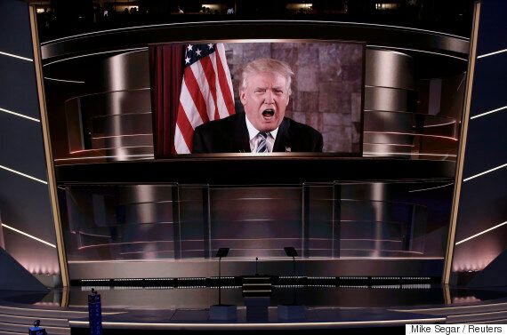 미국 공화당 '트럼프 전당대회'의 기이한 하이라이트