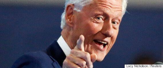 빌 클린턴이 민주당 전당 대회에서 힐러리는