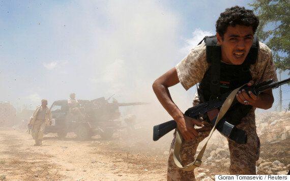 미군이 IS의 리비아 거점도시 시르테를 처음으로 전격