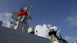 중국과 러시아가 남중국해에서 합동 해군 훈련을