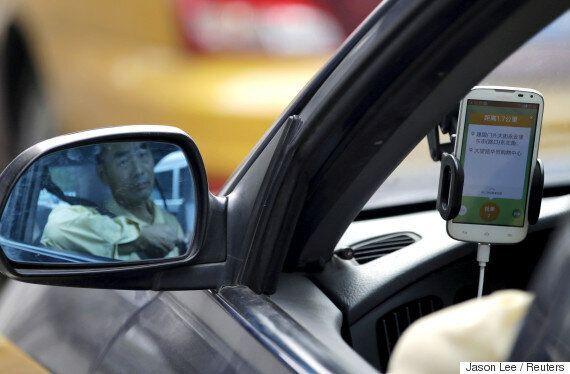 중국 차량 공유 서비스 '디디추싱'이 우버 중국법인을