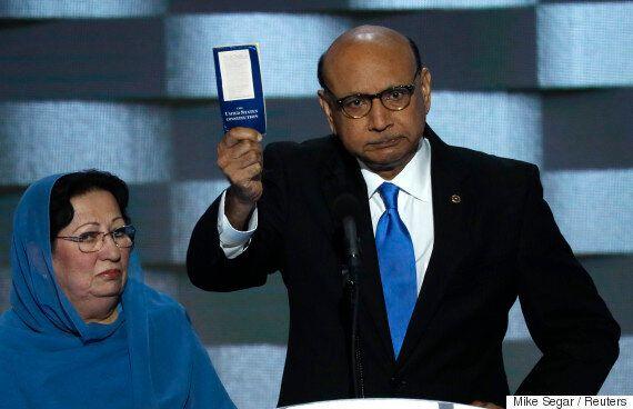 트럼프가 이번엔 이라크 참전용사 부모에 대한 발언으로 비난을 받고