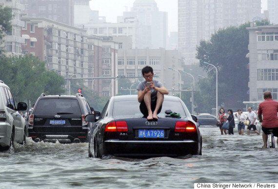 240여 명이 사망·실종된 허베이의 대홍수가 만든