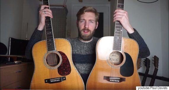570만원짜리 기타와 17만원짜리 기타의 소리는 어떻게