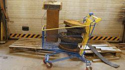 쇼핑카트는 어느 정도의 무게까지 견딜 수