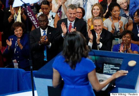 미셸 오바마의 민주당 전당 대회 연설은 왜 정치 역사상 최고의 연설 중
