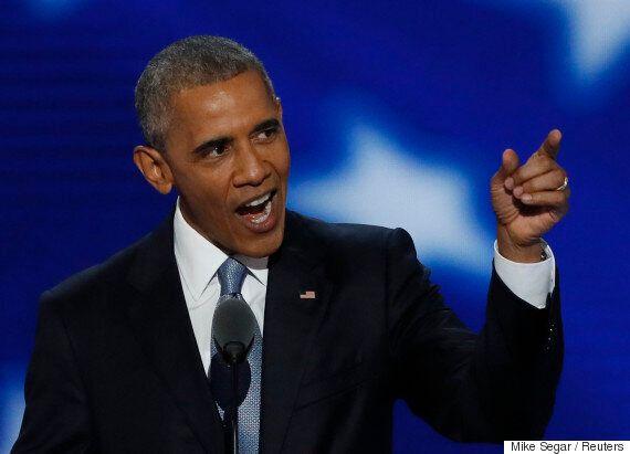 버락 오바마의 힐러리 클린턴 지지연설에는 정말 모든 게 다