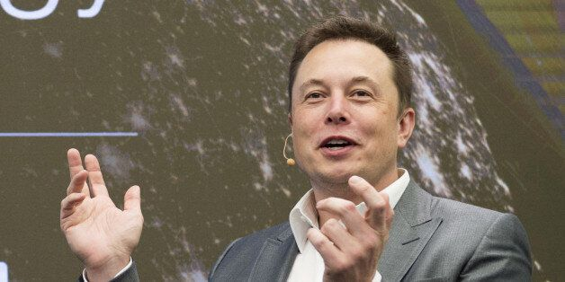 FILE PHOTO -- Elon Musk, Chairman of SolarCity and CEO of Tesla Motors, speaks at SolarCity?s Inside...