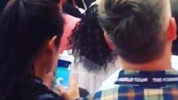 한 관객이 비욘세 앞에서 포켓몬 고를 하자 팬들이