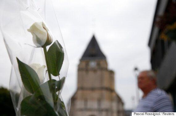 프랑스 신부를 참수살해한 용의자들의 'IS 충성맹세' 영상이