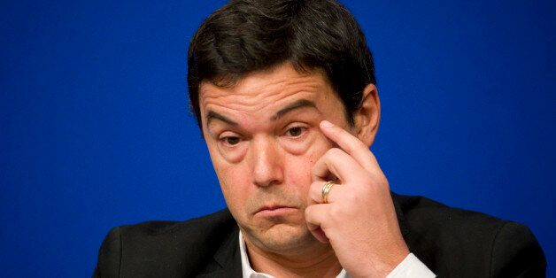 French economist and academic Thomas Piketty attends a