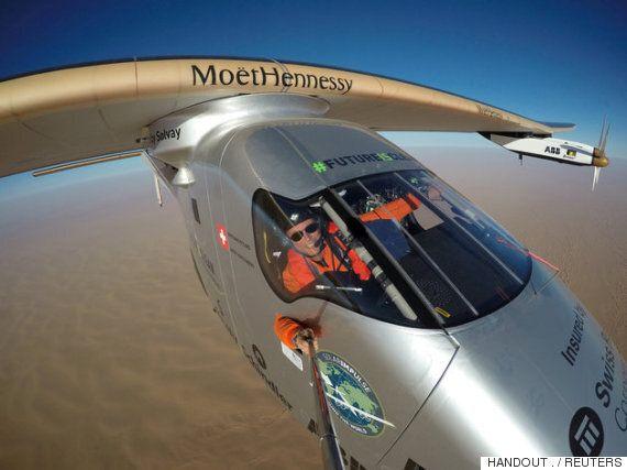 이 비행기는 연료 한방울 없이 세계 일주를
