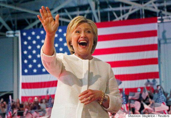 힐러리가 마침내 미국 민주당 대선후보로 공식