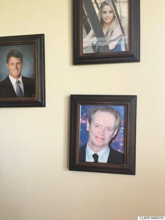 집안에 있는 가족사진을 5일 동안 하나씩