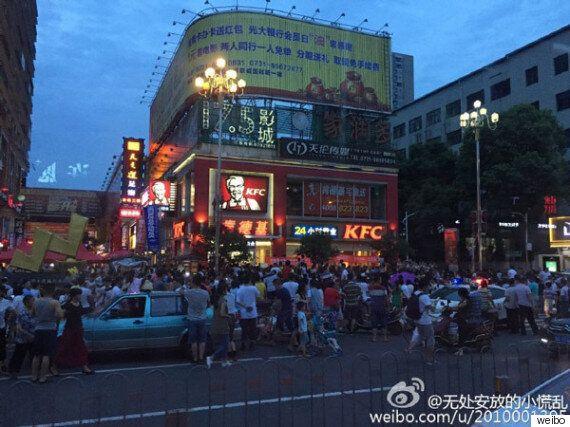 중국에선 광적인 'KFC 애플 불매운동'이