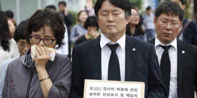 고 김홍영 검사에게 폭언·폭행을 했던 부장검사의
