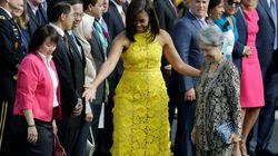 싱가포르 총리 아내가 백악관에 가져온 클러치의 가격이