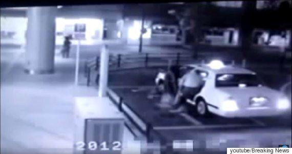 일본에서 택시를 타는 유령이 CCTV에