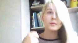 이 여성은 3초 만에 머리 색을 완전히 바꿀 수 있다