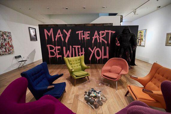 '출구 앞 선물가게' 예술 대중화의 또 다른 이름 | 미스터 브레인워시MBW 국내 전시를