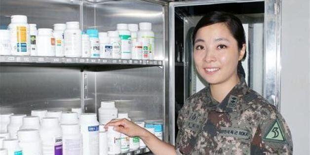 육군 김봉오리 중위, 뇌경색 환자 생명