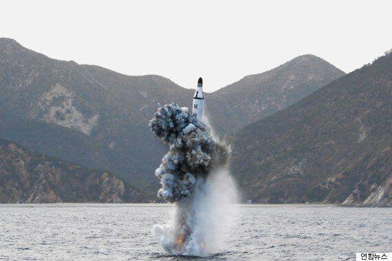 북한이 또 잠수함발사탄도미사일(SLBM)을