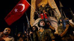 터키에서 군사 쿠데타가 발생했다(사진,
