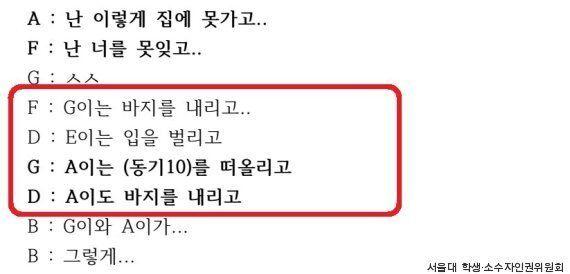서울대가 남학생들의 '성폭력 단톡방'에 시급히 추진 중인