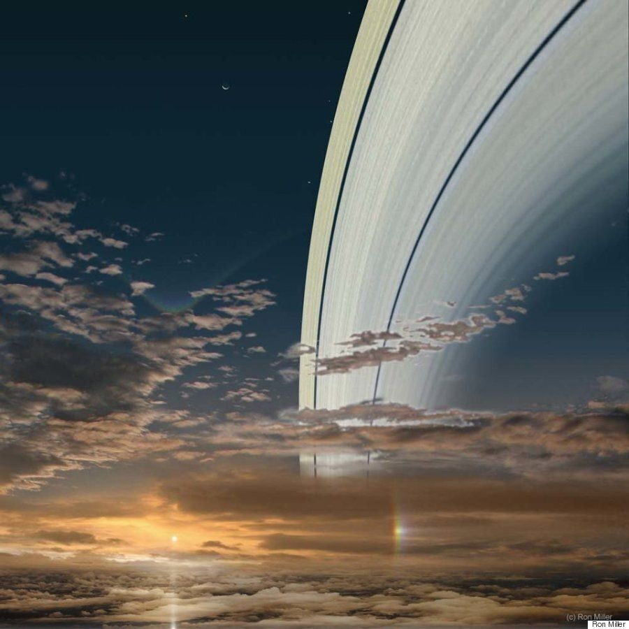 다른 행성에서 보는 태양의 모습은 바로
