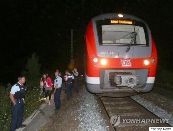 독일 열차에서 17세 난민이 흉기를 휘두르는 사건이