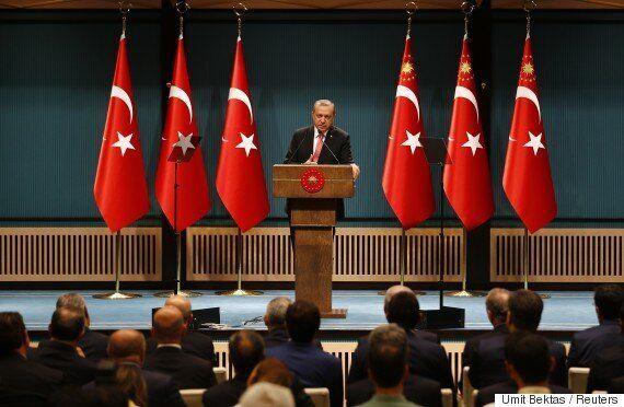 터키 에르도안 대통령, 3개월간