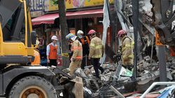 홍은동 공사 중 건물 무너져 1명