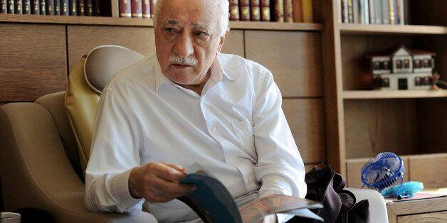 Islamic preacher Fethullah Gulen is pictured at his residence in Saylorsburg, Pennsylvania, U.S. on September...