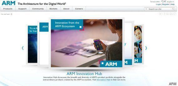 소프트뱅크 손정의, 영국 최대 반도체회사 ARM을