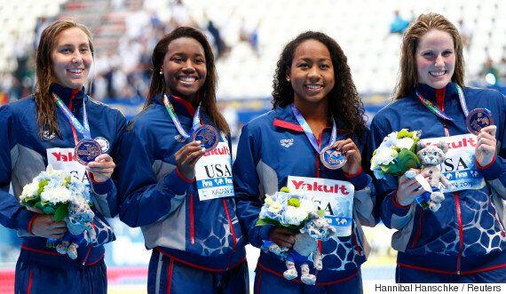 미국 수영 선수 중 흑인이 드문